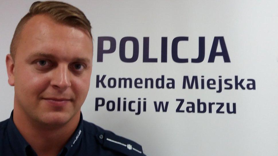 mł.asp. Michał Holeczek